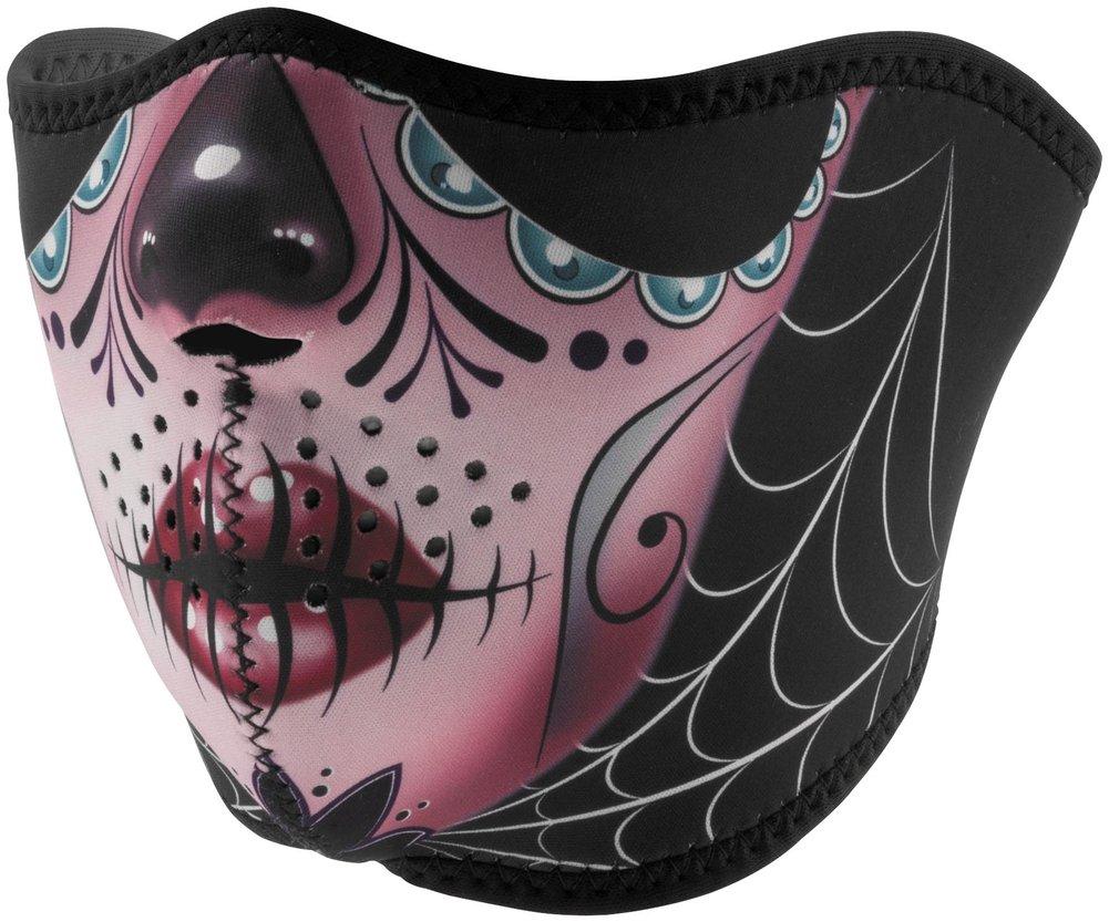 Zan Headgear Womens Reversible Neoprene Half Face Mask ...