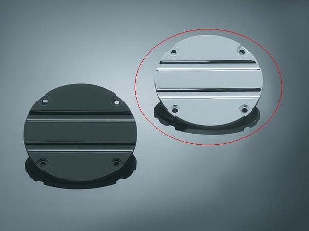 kuryakyn hypercharger blood groove trap door chrome ebay. Black Bedroom Furniture Sets. Home Design Ideas