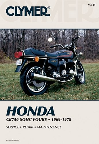 Clymer Repair Manual For Honda CB750 CB-750 SOHC FOUR 69-78