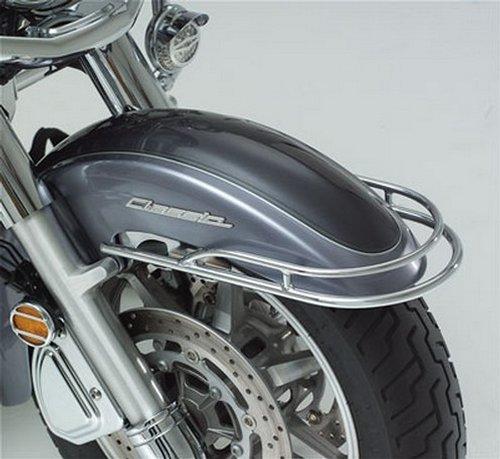 Show chrome front fender rail for yamaha v star 650 1100 for Yamaha vstar 650 parts