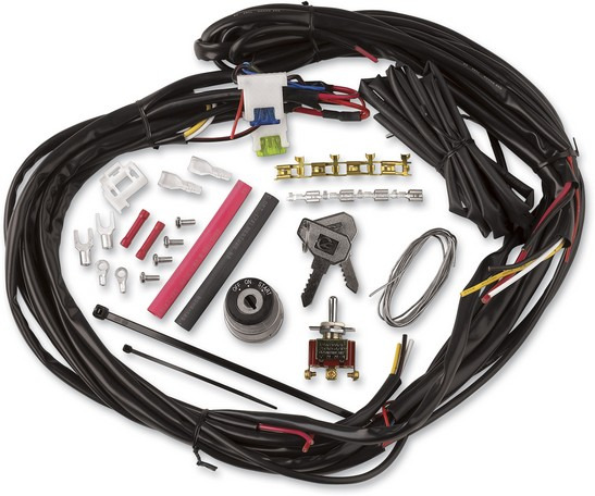 Wiring Harness Making Supplies : Cycle visions custom chopper wire harness kit universal ebay