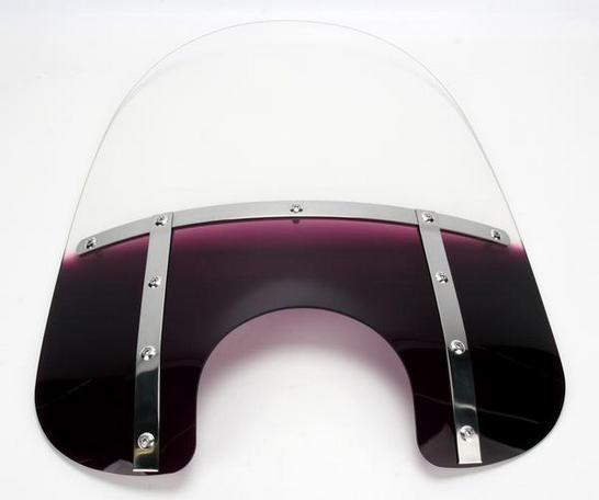 Memphis shades fat 15 windshield 9 inch cutout purple ebay for 15 inch window blinds