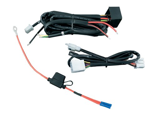 Trailer Wiring Harness Plug Covers : Kuryakyn plug n play trailer wiring and relay harness for