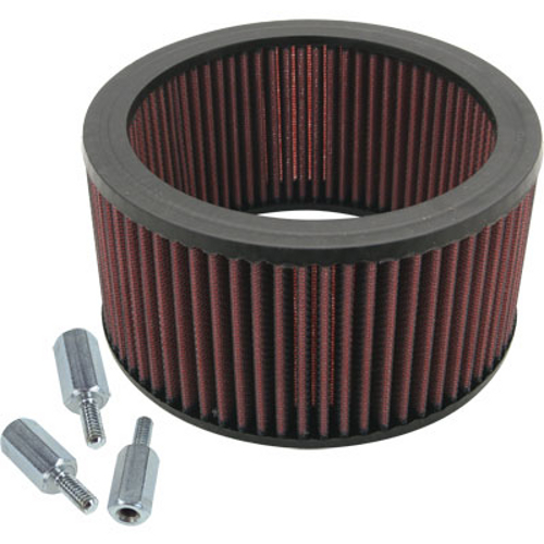 High Flow Air Cleaner Harley : S cycle super e and g high flow air filter kit for