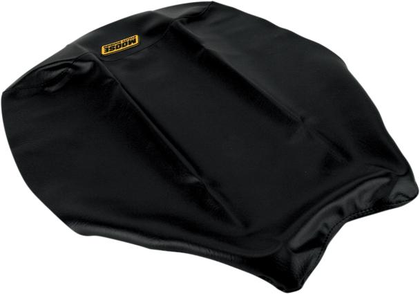 Yamaha Replacement Seat Covers : Moose racing seat cover replacement black for yamaha grizzly