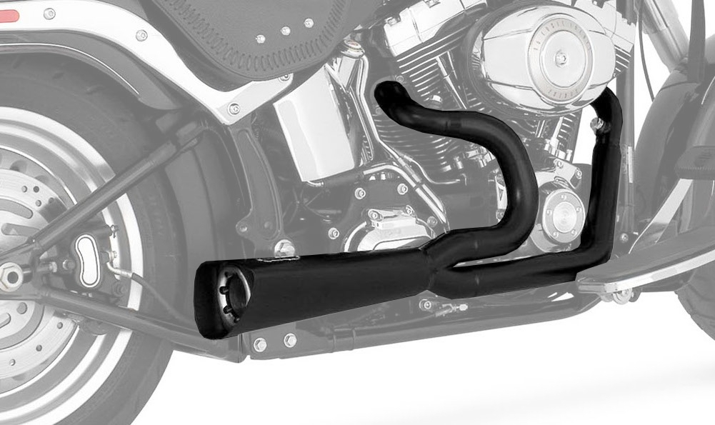Vance & Hines Compeion Series 2 Into 1 Exhaust For Harley ...