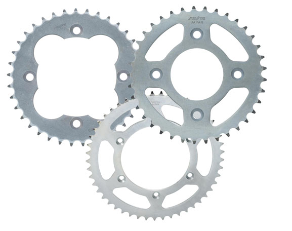 Sunstar Rear Sprocket 45T Steel For Suzuki GS GSXR GSX GSF